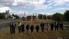 Budimex S.A. wbił symboliczną łopatę na budowie obwodnicy Łańcuta