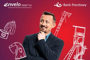 Bank Pocztowy z Adamem Małyszem po śląsku, kaszubsku i góralsku
