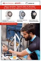 Wybrane modele zegarków Garmin dla klientów Banku Pocztowego tańsze o 30%. Akcja ma celu popularyzację płatności mobilnych i wsparcie pozyskiwania nowych klientów