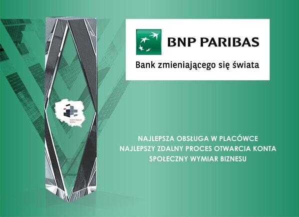 Bank BNP Paribas Instytucją Roku 2019