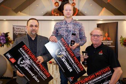 Polak drugi na podium Ogólnoeuropejskiej Olimpiady Mechaników Mitsubishi Motors
