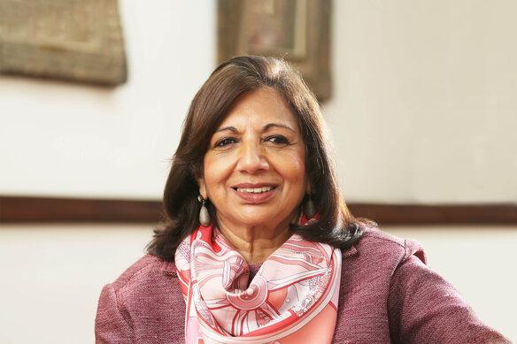 Dr Kiran Mazumdar-Shaw z Indii zwycięzcą światowego konkursu EY Przedsiębiorca Roku 2020