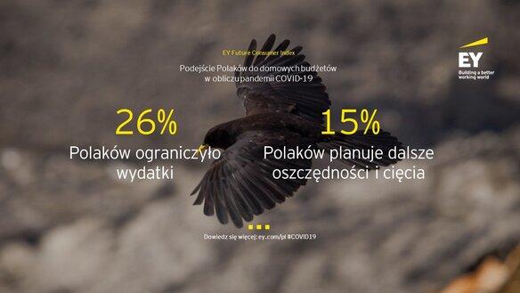 """Badanie EY Polska: Mimo pandemii, większość Polaków nie ogranicza wydatków i zamierza jak najszybciej powrócić do """"normalności"""""""