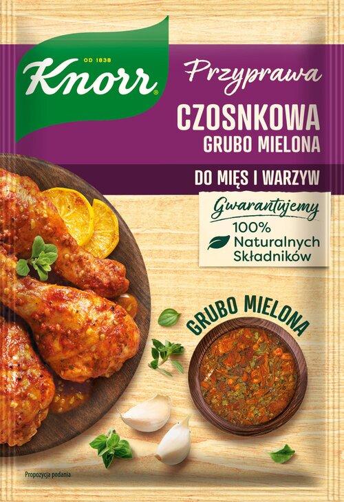 Nadaj smaku, koloru i charakteru daniom z pomocą przypraw grubo mielonych Knorr