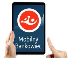Mobilny Bankowiec: listonosze Poczty Polskiej oferują kredyty  Banku Pocztowego przez tablety