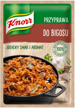 Nowe przyprawy Knorr, czyli smacznie na jesień - Przyprawa do bigosu / Przyprawa do zup / Przyprawa do flaków oraz Papryka wędzona w Hiszpanii