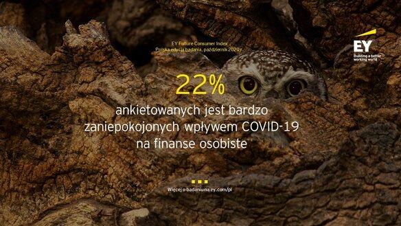 Badanie EY Polska: Polacy niepokoją się o swoje finanse bardziej niż jeszcze pół roku temu, choć nie ograniczają radykalnie wydatków