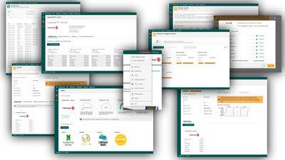 Nowe menu użytkownika oprogramowania netPR.pl - mój profil, dziennik zdarzeń, panele administracyjne