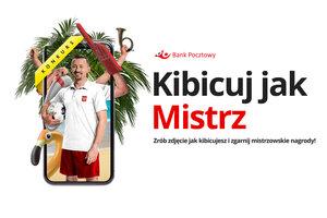 Zrób zdjęcie jak kibicujesz w czasie EURO 2020 i wygraj z Bankiem Pocztowym. Najlepsze zdjęcia wybierze m.in. Adam Małysz