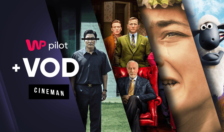 Hity VOD Cineman.pl i dostęp do kanałów TV na żywo w jednym pakiecie WP Pilot