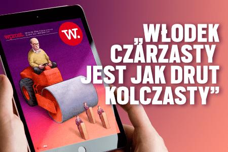 """e-Wprost nr 29 (78): Czarzasty """"drut kolczasty"""", Szczepkowska o TVN, poradnik: jak wytropić pułapki kredytowe, dodatek olimpijski."""