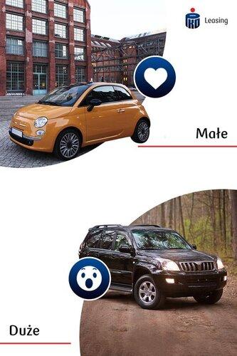 Jakie auta bardziej przypadają Ci do gustu? 💙 Te mniejsze, czy 😲 te większe?  Niezależnie od wyboru pamiętaj, że na każdy z nich możesz uzyskać ofertę leasingu z opłatą wstępną nawet 0% oraz indywidualnie ustalanymi wysokościami rat.