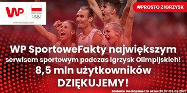 WP SportoweFakty liderem podczas Igrzysk Olimpijskich