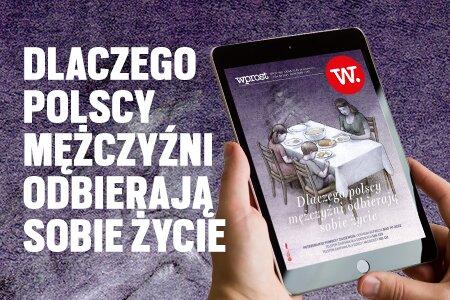 e-Wprost nr 37 (86):  Samobójstwa mężczyzn, gorączka w PO, walka z religią w szkołach, najbardziej innowacyjne polskie firmy.