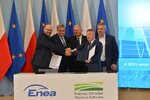 ENEA Group and the National Support Centre for Agriculture start cooperation on solar power development in Poland