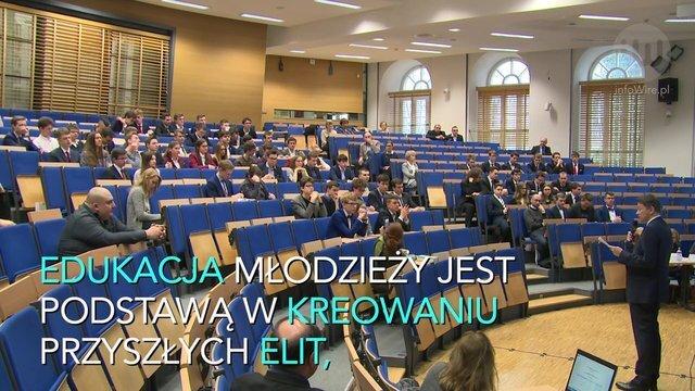 Budowanie postaw prospołecznych u młodych ludzi gwarancją silniejszej Polski. Wiedza nie musi być towarem deficytowym