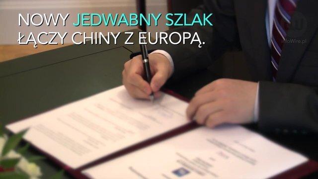 Chiny tworzą nowy jedwabny szlak. Polska ważnym partnerem gospodarczym